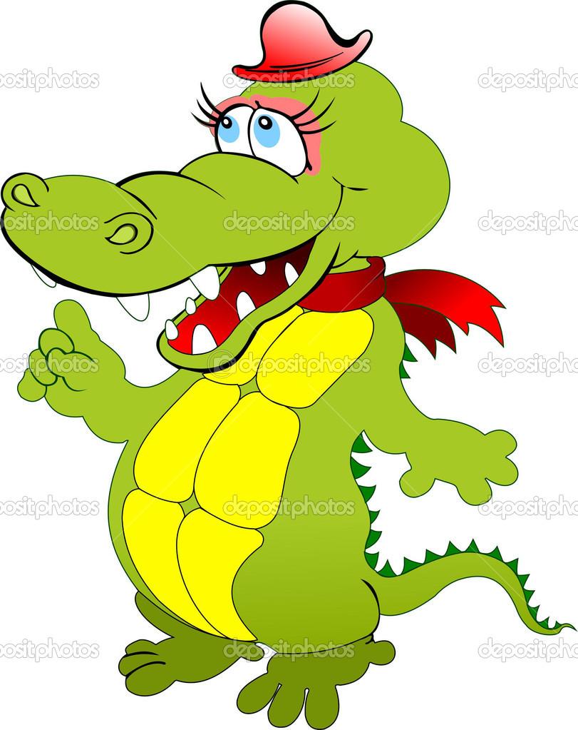Мультик про крокодилов