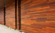Отделка деревом и стены из древесного материала