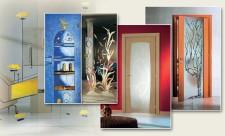 Межкомнатные двери и способы их декорирования