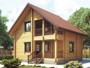 Применение кедра при строительстве домов