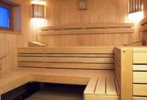 Строительство сруба бани.