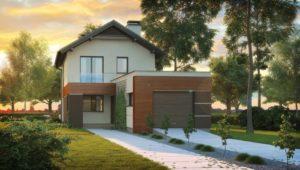 Особенности проектов узких домов